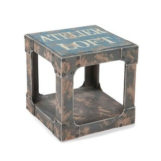 "Moes Home Collection HU-1039 Loft 16"" Wide End Table"