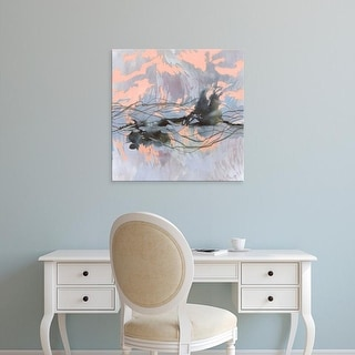 Easy Art Prints Victoria Borges's 'Horizon Flux II' Premium Canvas Art
