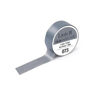 Little B Paper Tape 15mm Grey 073