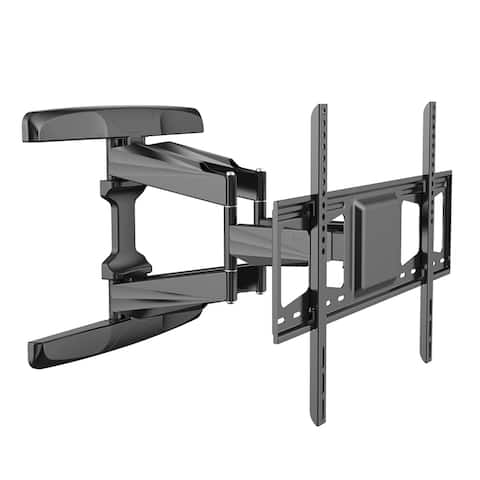 Loctek TV Wall Mount Bracket for 42-70 inch TV with Articulating Arms Full Motion tilt up to 99lbs and Max VESA 600x400