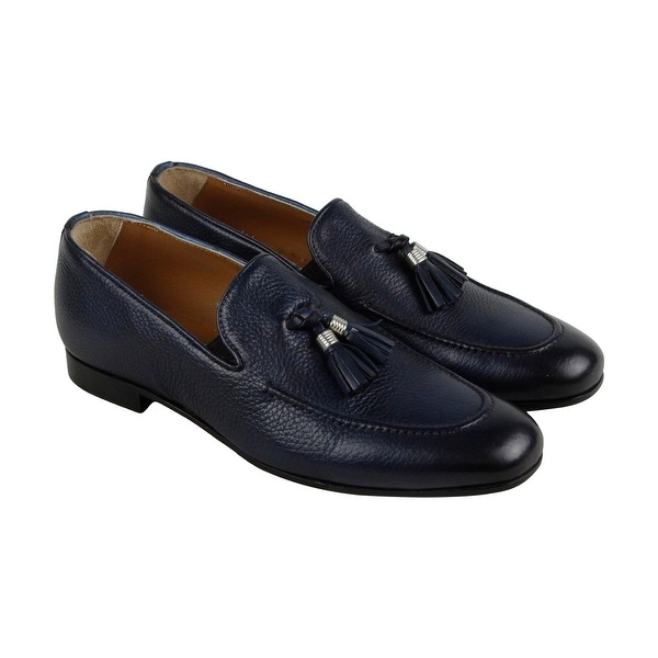 Kenneth Cole New York Donovan Loafer Mens Blue Casual Dress Loafers Shoes