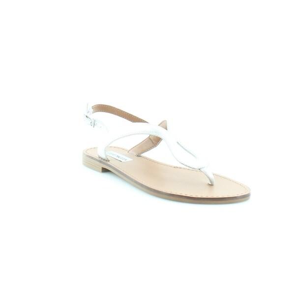 Steve Madden Takeaway Women's Sandals & Flip Flops Silver
