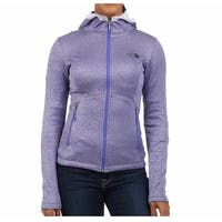 The North Face Purple Womens Size Medium M Agave Full Zip Sweater