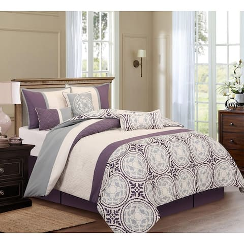 Grand Avenue Daffodil 7-piece Comforter Set