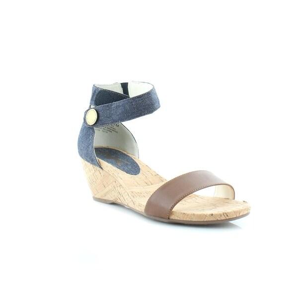 Anne Klein Sport Calbert Women's Sandals & Flip Flops BL/COG