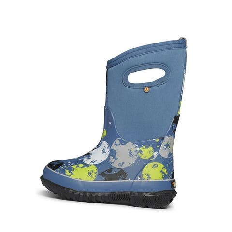 Bogs Outdoor Boots Boy Classic Moon Waterproof Insulated Pull On