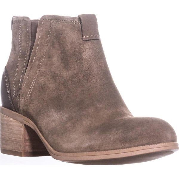 Clarks Maypearl Daisy Ankle Boots, Olive Suede - 11 us / 42.5 eu