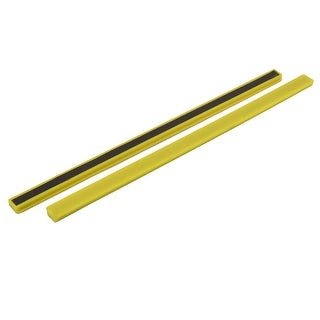 2 Pcs Office School Whiteboard Bar Magnets for Message Note 30cm Long