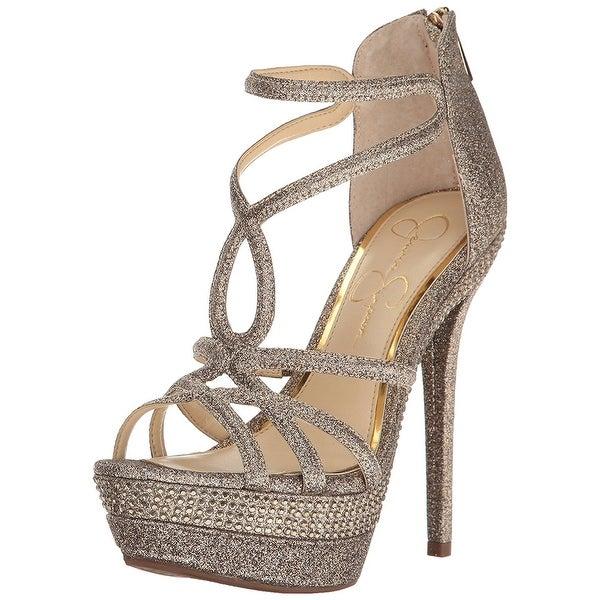 Jessica Simpson Womens Rozmari Open Toe Casual Strappy Sandals