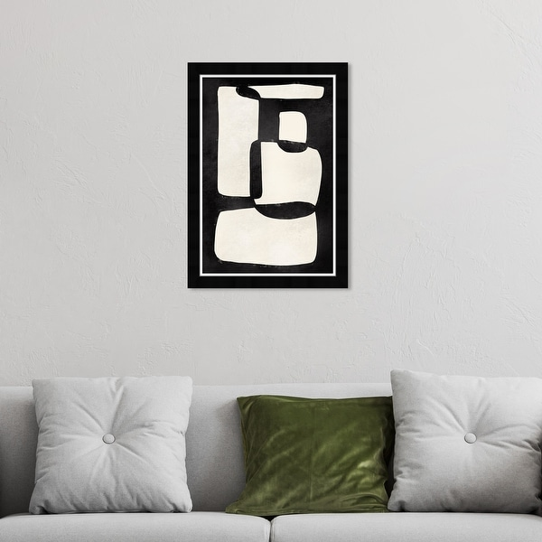 Hatcher & Ethan 'Black And White' Wall Art Framed Print - Black, White. Opens flyout.