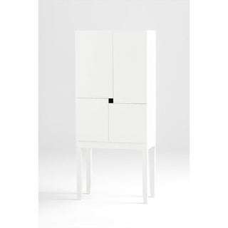 Cyan Design 05728 Hideout Bar Cabinet - white veneer