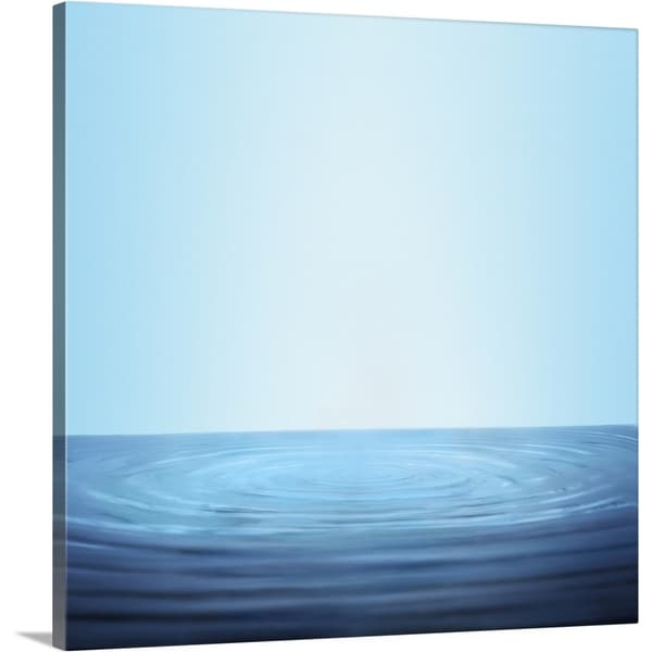 """Water ipples"" Canvas Wall Art"