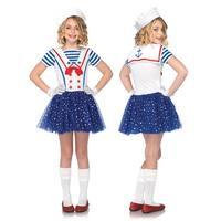 Girls Sailor Sweetie Kids Halloween Costume