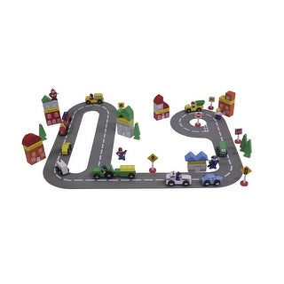 Childcraft Town Play Set, 72 Pieces