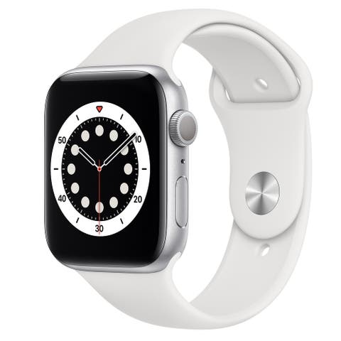 Apple Watch Series 6 (44mm) GPS + Cellular - Silver - Refurbished