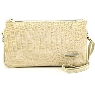 Madi Claire 4973 Women Leather White Clutch