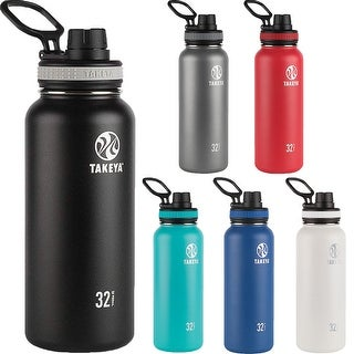 Link to Takeya Originals 32 oz. Insulated Stainless Steel Water Bottle Similar Items in Glasses & Barware