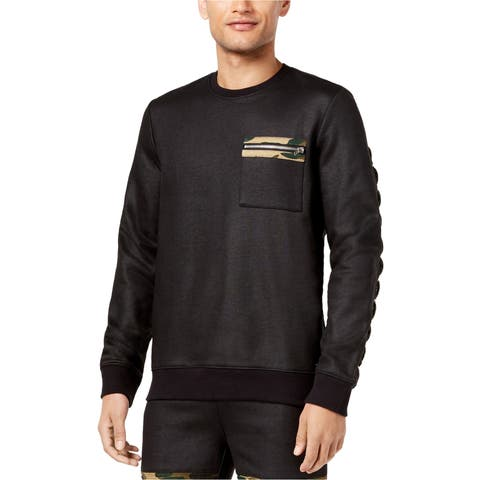 Guess Mens Zip Pocket Sweatshirt