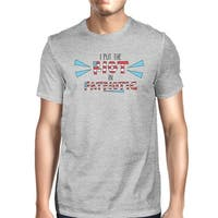 I Put The Riot In Patriotic Funny Independence Day T-Shirt For Him