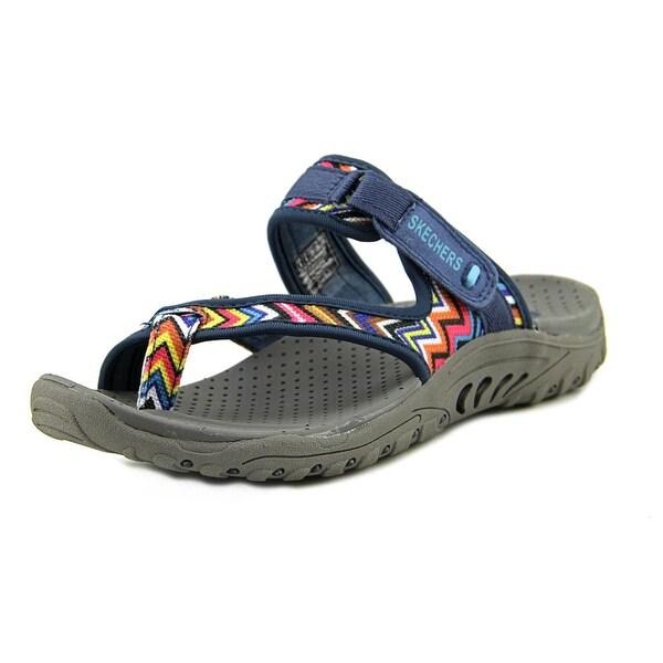 Skechers Reggae-Zig Sway Women Open-Toe Canvas Sport Sandal