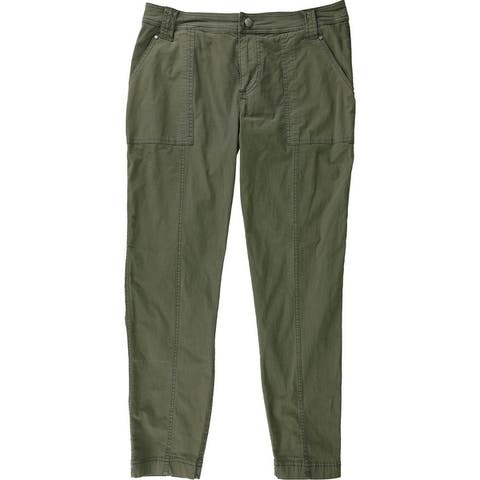 Guess Womens Layla Cargo Casual Trouser Pants