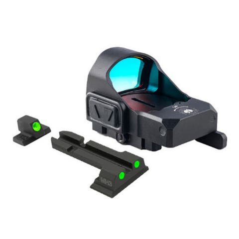 Meprolight MicroRDS Red Dot Micro Sight with Quick Detach Adapter