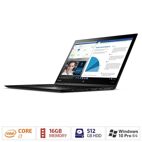 """Lenovo ThinkPad X1 Yoga 20FQ003VUS - 14"""" - Core i7 6600U - 16 GB RAM - 512 GB SSD ThinkPad X1 Yoga 20FQ003VUS"""