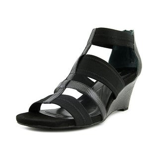 Alfani Maven   Open Toe Synthetic  Wedge Sandal
