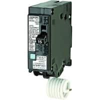 Siemens Q115DF Dual Function AFCI/GFCI Circuit Breaker, 15 Amp, 120 Volt