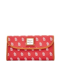 Dooney & Bourke MLB St. Louis Cardinals Continental Clutch Wallet (Introduced by Dooney & Bourke at $128 in Feb 2015)