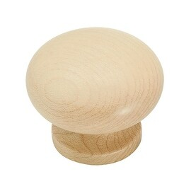 Amerock Nat Stained Maple Knob