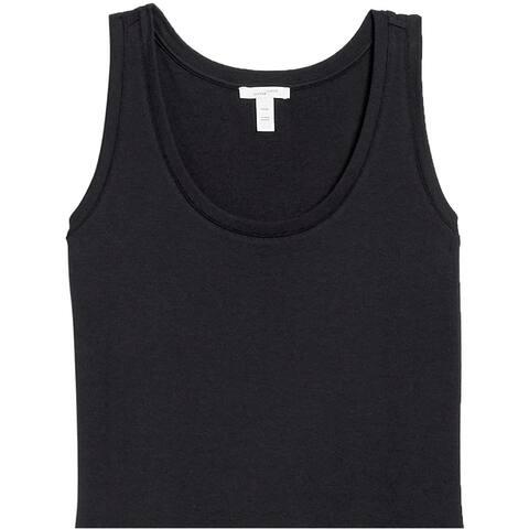 Brand - Daily Ritual Women's Pima Cotton and Modal Interlock Tank Dress - Small