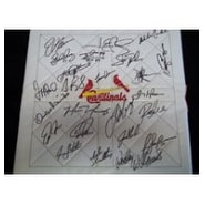 Signed Cardinals St Louis 2003 Replica Full Base By The 2003 St Louis Cardinals Team autographed
