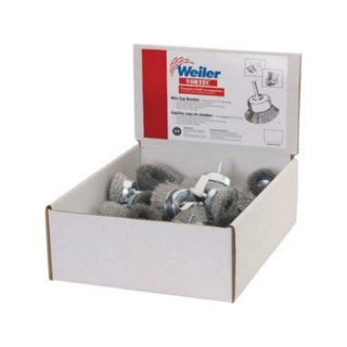 Weiler 61265 Cup End Brushes, 30 Piece|https://ak1.ostkcdn.com/images/products/is/images/direct/7d071f2103850f35cd908060b850737b0318aacc/Weiler-61265-Cup-End-Brushes%2C-30-Piece.jpg?_ostk_perf_=percv&impolicy=medium