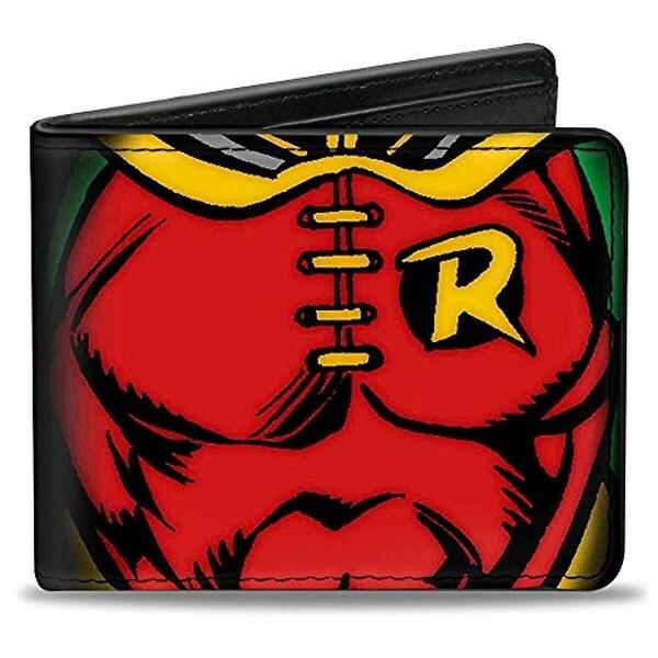 Buckle-Down Bifold Wallet Robin