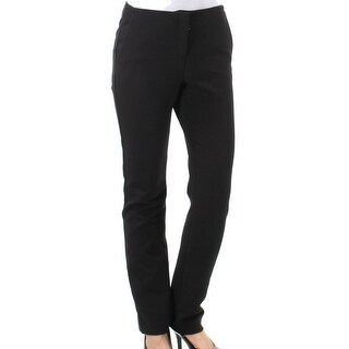 Theory NEW Solid Pioneer Black Women's Size 2 Stretch Dress Pants