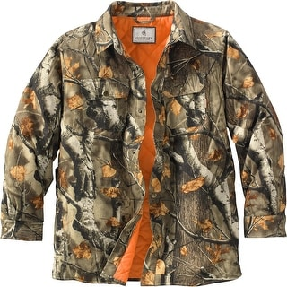 Legendary Whitetails Mens Ridge Runner Big Game Camo Shirt Jac - big game field camo