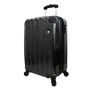 Mia Toro ITALY 25 Inch Spazzolato Lucido Hardsided Rolling Luggage (2 options available)
