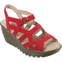 8f0c5ce300fa Shop Women s Clarks Reedly Salene Wedge Ankle Strap Sand Goat Nubuck ...