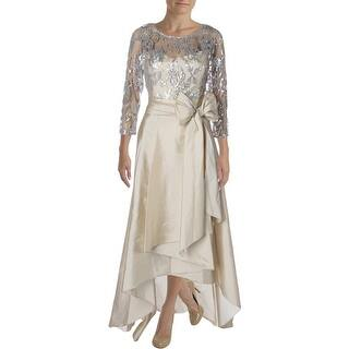 Adrianna Papell Womens Evening Dress Mesh Sequined|https://ak1.ostkcdn.com/images/products/is/images/direct/7d0a385f18993ea7ca68a2fe888f479bc88c3754/Adrianna-Papell-Womens-Evening-Dress-Mesh-Sequined.jpg?impolicy=medium