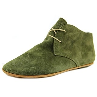 Merci DP6007 Round Toe Suede Loafer