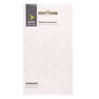 Sprint Screen Protector for Samsung Epic 4G (Clear)
