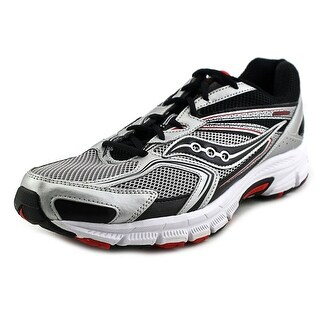 Saucony Grid Cohesion 9 Men Round Toe Synthetic Silver Sneakers