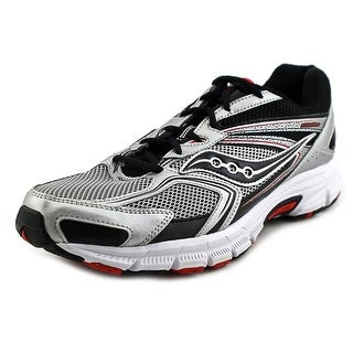 Saucony Cohesion 9 Men W Round Toe Synthetic Silver Sneakers