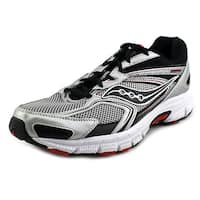 Saucony Cohesion 9  Sil/Blk/Red Sneakers Shoes