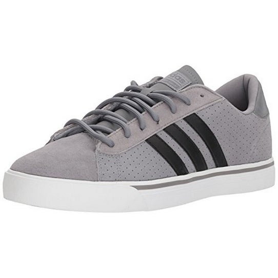Adidas Mens Cf Super Daily, Grey Three/Core Black/Grey Four