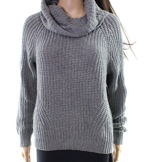 BP. Heather Women's Chunky Knit Cowl Neck Sweater