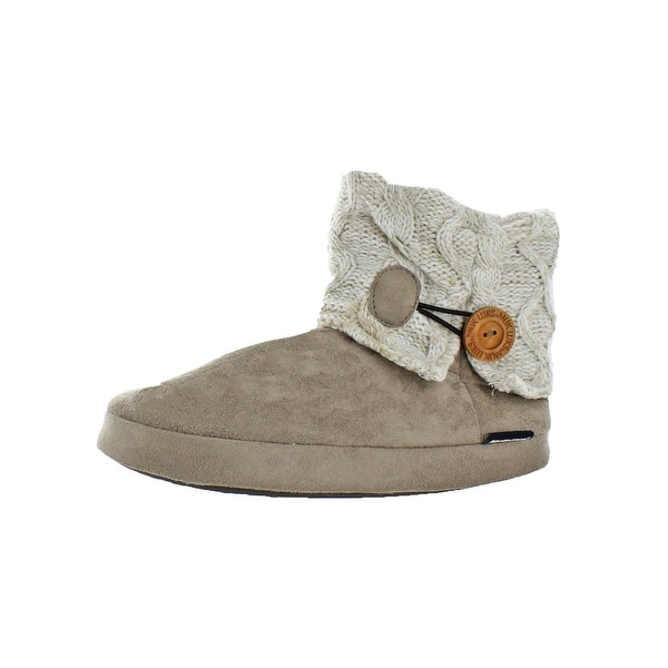 f2ff541004c19 Shop Muk Luks Womens Patti Slipper Bootie Slippers Sweater Furpa ...