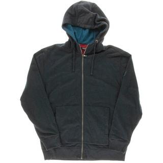Nautica Mens Fleece Full Zip Sweatshirt - XL