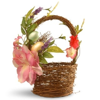 """12"""" Decorated Basket - N/A"""